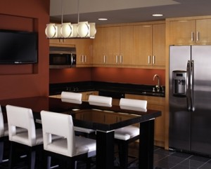 2 bedroom Suite elara las vegas kitchen