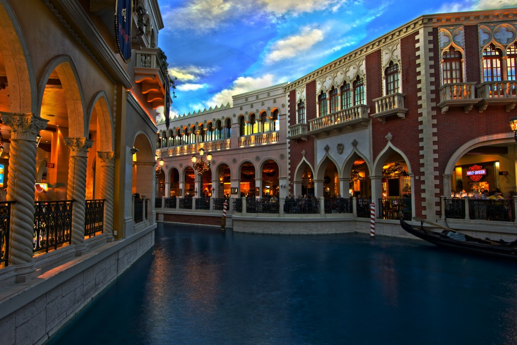 The Canals of Venice in Las Vegas, Nevada
