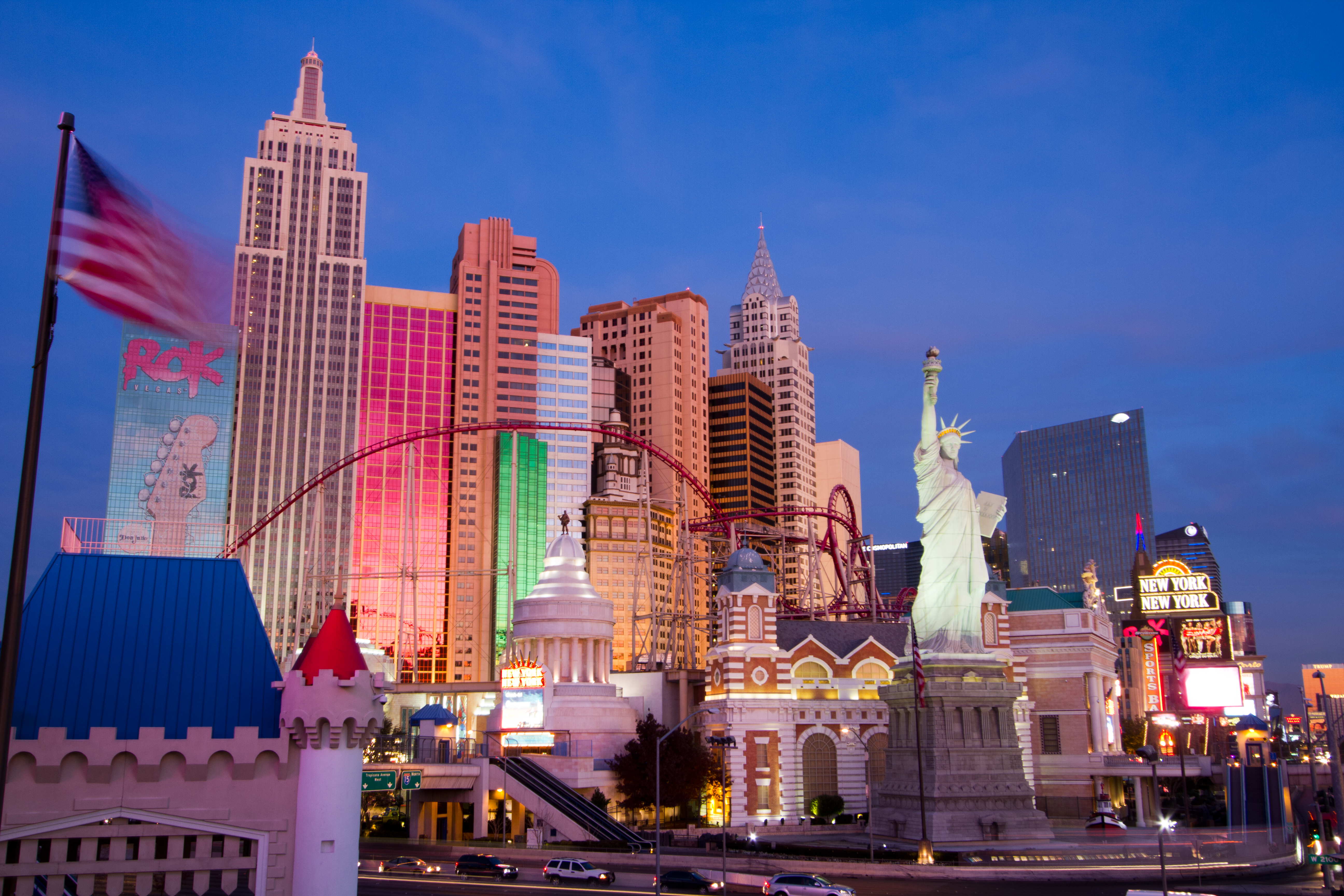 New York Las Vegas Flug