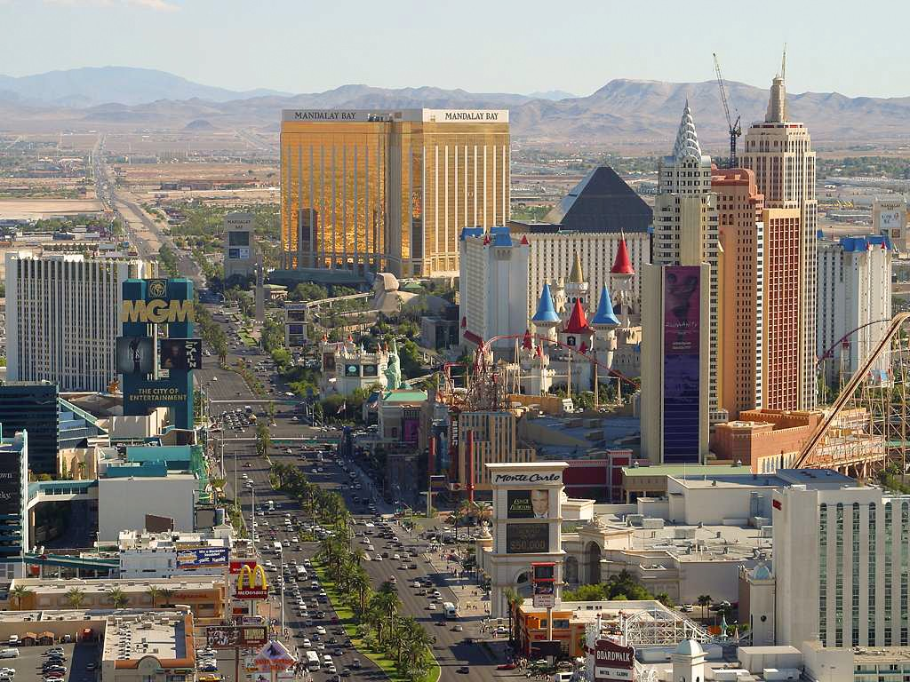 The Strip of Las Vegas