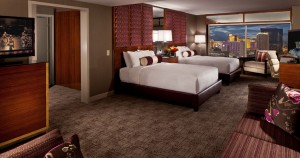 MGM Grand Las Vegas - Executive Queen Suite bedroom